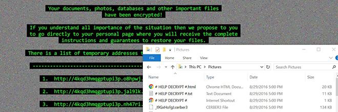 Cerber3 virus: .cerber3 bestanden herstellen en ransomware verwijderen
