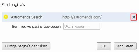 chrome-startpaginas-astromenda