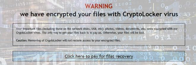 CryptoLocker verwijderen et bestanden herstellen (2017 bijwerken)