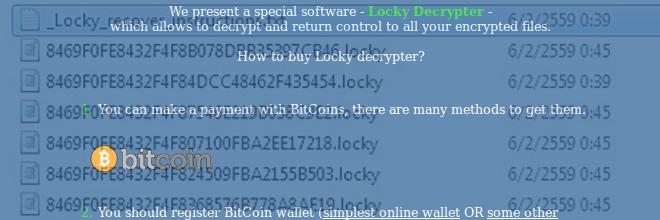 .locky bestand decryptie: Locky virus ransomware verwijderen
