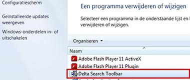 verwijder-delta-search-toolbar