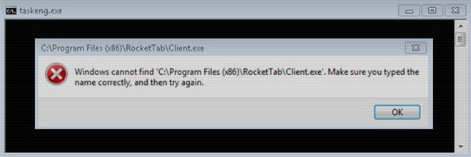 Taskeng.exe virus popups verwijderen voor Windows