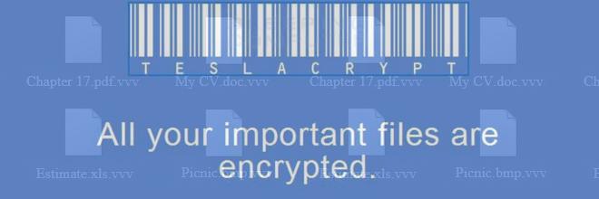 Verwijder .vvv extensie bestanden versleuteld door het TeslaCrypt ransomware virus