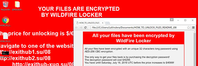 WildFire Locker virus verwijderen: .wflx bestand decryptie